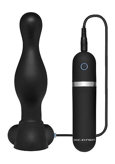 The Delight Vibrating Plug - Black