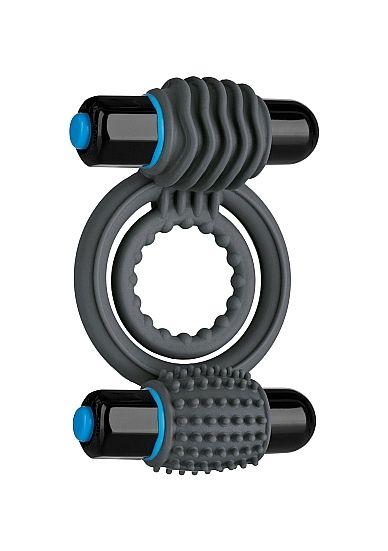 Vibrating Double C-Ring - Slate