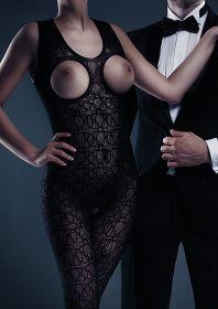 Zarah Bodystocking - Black - One Size