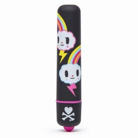 Tokidoki - Mini Bullet Vibrator Black Storm Clouds