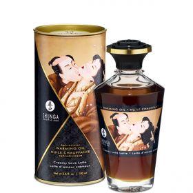 Shunga - Aphrodisiac Warming Oil Creamy Latte 100 ml