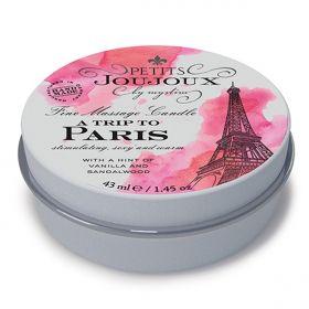 Massage Candle Paris 33 gram