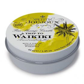 Massage Candle Waikiki 33 gram
