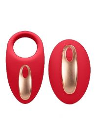 Dual Vibrating Toy - Poise - Red