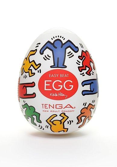 Keith Haring Egg - Dance