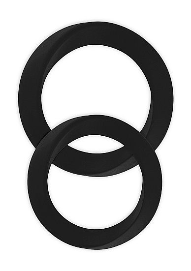 Infinity - Thin - M and L Cockring - Black