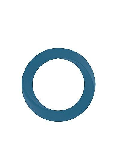 Infinity - Thin - Medium Cockring - Blue