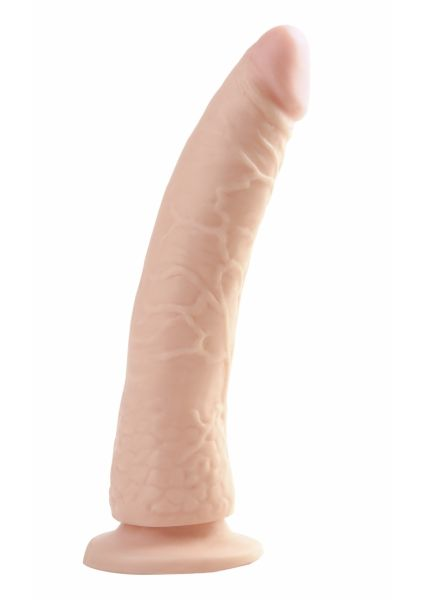 Slim 7 Inch Dong With Suction Cup - Skin