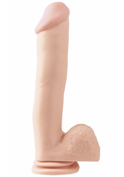 12 Inch Dong With Suction Cup - Skin