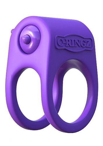 Silicone Duo-Ring - Purple