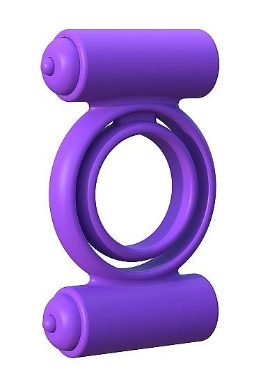 Silicone Double Delight - Purple