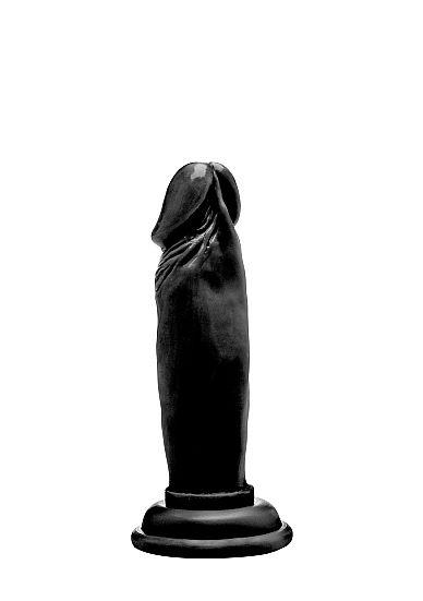 Realistic Cock - 6 Inch - Black