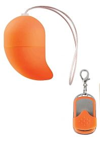 Vibrating G-spot Egg - Small - Orange
