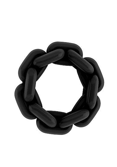 No.5 - Chain Cockring - Black